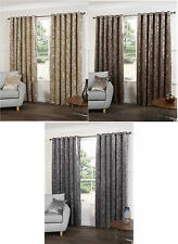 Country Solid Pattern Ready Made Curtains & Pelmets