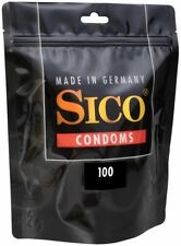 "Sico longer love condoms ""made in germany"" - coated 5% benzocaine  100 pieces"