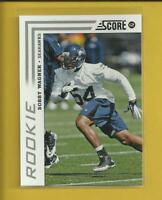 Bobby Wagner RC 2012 Score Rookie Card # 307 Seattle Seahawks Football NFL