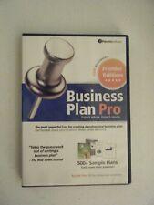 "PALO ALTO SOFTWARE ""BUSINESS PLAN PRO PREMIER EDITION 15TH ANNIVERSARY 2010"