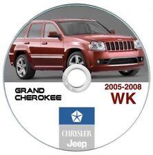 Jeep Grand Cherokee 2005-2008 manuale officina workshop manual