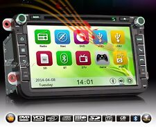 Autoradio specifica Erisin Es8405v 8 pollici Mp3 DVD GPS Bluetooth Volkswagen
