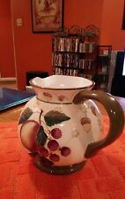 Garden Splendor by ZRIKE - Hand Painted Ceramic Pitcher 3 qts