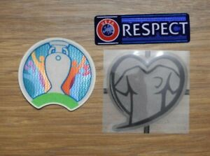 Euro 2020 Football Shirt Patch Qualifiers Qualifying Soccer Badge Set Real pics