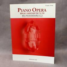 Final Fantasy Piano Opera Music IV V VI - GAME MUSIC SCORE BOOK