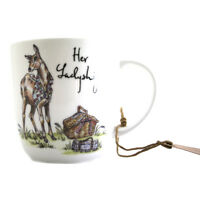 Queens Country Pursuits Her Ladyship 300ml Olive Mug
