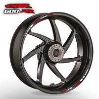 CBR 600 RR wheel rim stickers decals - 20 colours - 600rr cbr600