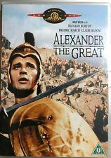 Alexander the Great DVD 1956 Classic Hollywood Movie Epic w/ Richard Burton