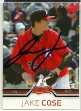 2013 Kannapolis Intimidators JAKE COSE Signed Card autograph WHITE SOX