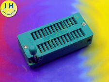 Point socle 28 broches dip28 socket IC; 0,6 pouces; 15,2mm; MCU zif28 #a1691