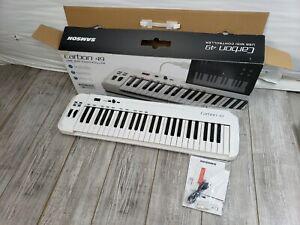 Samson Carbon 49 USB/MIDI Keyboard Controller + 4 Port USB Hub + Cable NIOB