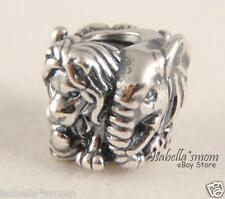 SAFARI Authentic PANDORA Sterling Silver RAM LION ELEPHANT Charm/Bead 791360 NEW