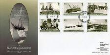 British Antarctic Ter BAT 2014 FDC Imp Trans-Antarctic Exp Pt II 6v Cover Stamps