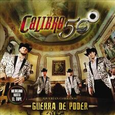 CALIBRE 50 - GUERRA DE PODER * NEW CD