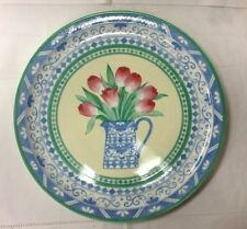"VILLEROY & BOCH ""PERUGIA"" ROUND CHOP PLATTER 12 1/2"" FINE CHINA NEW GERMANY"