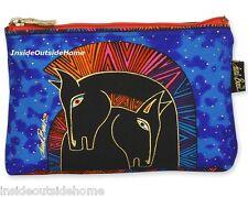 Laurel Burch Embracing Horses Organizer Bag Makeup Pencil Art Craft Sewing Meds