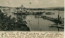 Norway Norge Oslo Christiania Kristiania - Yacht Club 1905 postcard