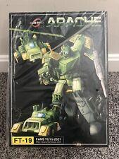 Fanstoys FT-19 Apache Masterpiece Scale Transformers Springer ?? Seller