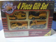Vintage, Unusual CONSTRUCTION Vehicles, 4 piece set. 1/64 scale. Mint Box - READ
