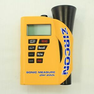 New Zircon Sonic Measure Automatic Calculations & Laser Targeting Device DMS50L