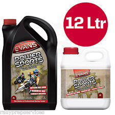 Evans Waterless Coolant POWER SPORTS 12L Race Rally Off Road 4x4 Modern Vehicle