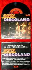 Single P.T.O. Peter Thomas Orchestra: Discoland (Polydor 2801 021) D 1977