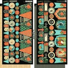 """Graphic 45 Couture Collection Fashion Style Lovely Chic 12"""" Cardstock Banners"""
