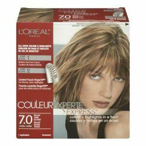 L'Oreal Paris Couleur Experte Express Hair Color Highlights 7.0 Dark Blonde