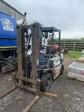 More details for 1992 komatsu gas forklift 1.8t - requires attention to clutch/drive.