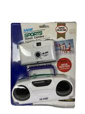 Sakar Sports Pack 35 Mm Camera Stereo Radio Am Fm Travel Vintage White Fun New