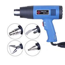 1500W Heat Gun Hot Air Wind Blower Dual Temperature + 4 Nozzles Power Heater Nj