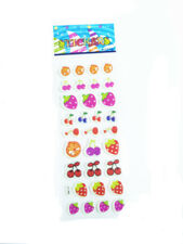 Popular Classic Cartoon Lovely Strawberry Bubble Wall Stickers Kids Xmas A1s