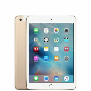 Apple iPad mini 3 64GB, Wi-Fi + Cellular, 7.9in - Gold