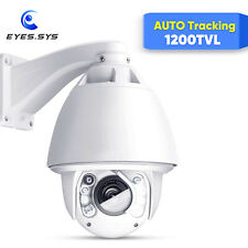 Anbvision Auto Tracking 30x Zoom SONY CCD 1200TVL 960H PTZ DOME IR Camera System