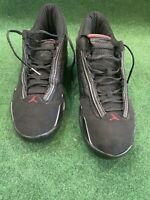 Men's Nike Air Jordan 14 XIV Retro Last Shot Black Red 2011 Size 13 487471-003