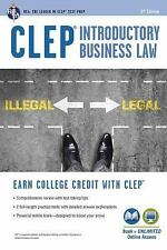 CLEP(R) Introductory Business Law Book + Online, 2nd Ed. (Paperback or Softback)