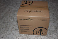 Pampered Chef Stainless Steel Rotating Utensil Holder Item# 2013 Tool turn about