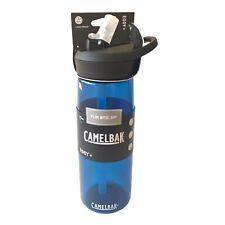 CamelBak Eddy+ Water Bottle .75 Liter 25 ounce Oxford Flip, Bite, Sip Blue