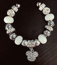 **ON SALE** Mickey Mouse Bracelet With Rhinestone Disney Charms