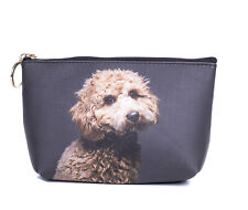 Cavoodle dog Toiletry Cosmetic purse