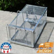 Rat Trap Cage Small Live Animal Pest Rodent Mouse Control Catch Hunting Trap O