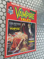 VAMPIRE TALES #1 MARVEL HORROR MAGAZINE FIRST ISSUE MORBIUS! VF./NM. 9.0! HTF