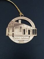 NEW Colonial Williamsburg Foundation Brass The Windmill 2015 Christmas Ornament