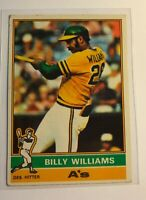 1976 Topps #525 BILLY WILLIAMS (Chicago Cubs) Card