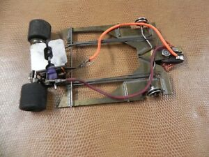 BRASS 1/24TH CHASSIS WITH MURA MOTOR