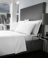 Full Flat Sheet 600 Thread Count 100%Egyptian Cotton Double King Size Top Sheets
