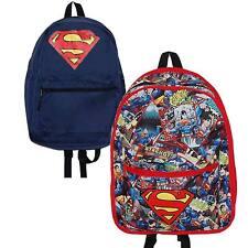 Superman Réversible Modèle Sac à dos Officiel DC COMICS ARTICLE