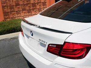 Carbon BMW F10 Trunk Deck Lip Spoiler M5 Type Sedan 528i 550i 535i 2010-2016