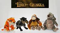 Peluche Il Libro della Giungla 2016 Originali Disney Bagheera Baloo Luigi Grandi