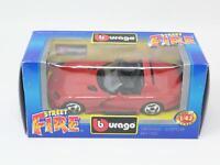 1:43 BURAGO BBURAGO STREET FIRE #4125 DODGE VIPER RT/10 NIB [PM3-037]